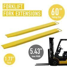 New listing 60� Forklift Pallet Fork Extension for Forklifts Lift Truck Slide Steel