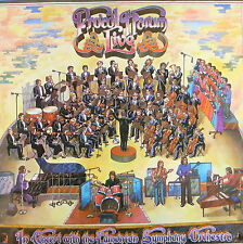 "LP 12"" 30cms: Procol Harum: the concert with the edmonton orchestra, chrysali C6"