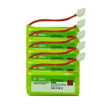 5 Cordless Phone Battery NiMh AAA 800mAh 2.4V For VTech BT284342 BT184342