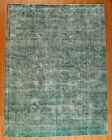 """Momeni Heirlooms Vintage Overdye Hand Knotted Wool Green Area Rug 9'9"""" X 12'9"""""""