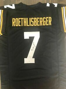Ben Roethlisberger signed Custom Jersey