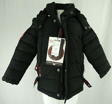 Canada Weather Gear Toddler Boys Snap-Up Full-Zip Puffer Jacket