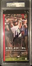 JOHN DALY 2005 BUICK INVITATIONAL AUTHENTIC SIGNATURE SIGNED AUTO PSA/DNA!!!!