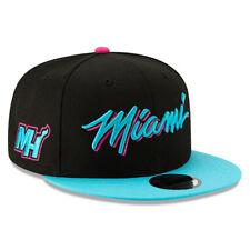 Miami Heat New Era 2018 City Series On-Court 9FIFTY Snapback Hat- Black