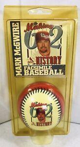 Vtg 98 St. Louis Cardinals Limited Edition Mark Mcgwire Baseball m27