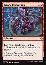MRM FRENCH 4x Frappe foudroyante (Lightning Strike) MTG magic XLN
