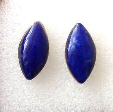 Lapis Lazuli Stone  Ear Studs