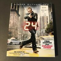 24: The Complete Eighth Season (Blu-ray Disc, 2010, 4-Disc Set) K. Sutherland