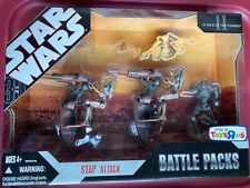 Star Wars Attack Of The Clones STAP ATTACK BATTLE PACKS Toys R Us Action Figure