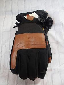 A505 Carhartt Men's Cold Snap Insulated Work Glove, Black Barley, Medium NEW