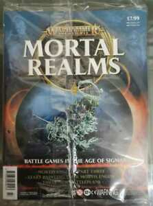 """Warhammer AoS Mortal Realms """"Mortis Engine Part 3"""" Sealed (Issue 77)"""