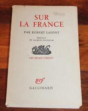SUR LA FRANCE - ROBERT LAFONT - Vintage Collectable