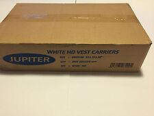 """White HD Vest Plastic Carrier Bags JUPITER Medium 10""""X 15""""X 18"""" (Full Box 2000)"""