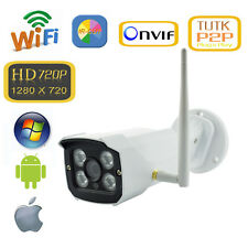 720P1MP 32GB SD Card Outdoor Wireless WiFi Network IP Camera HD IR-Cut P2P ONVIF