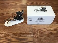 Dept 56 Dickens Village Kings Road Cab 55816 Christmas Department Horse Buggy