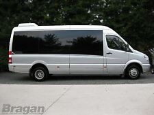 """To Fit Mercedes Vario Bus Stainless Steel 16"""" Dual Wheel Trims Covers Sleeves"""