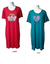 PACK of 2, Ladies 65% polyester35% cotton knitted print nighty.XXL 18-20