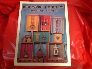 Macrame Hangers for small spaces patterns plant pot hangers wall hangings