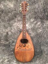 Stridente Mandolin Bowl Potato Back Vintage Needs Work Project