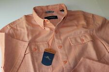 Tommy Bahama Camp Shirt Marcello Lite Citrus T316739 New Large L