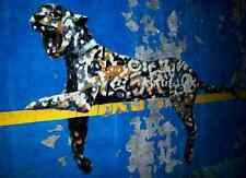 Banksy Graffiti Panther A3 Box Canvas Print