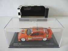MINICHAMPS 1/43 BMW 320 i E36 STW 1998  TEAM ISERT JAGERMEISTER réf 430982625
