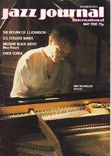 JAZZ JOURNAL MAGAZINE 1980 MAY MIKE WESTBROOK, J J JOHNSON, CHICK COREA