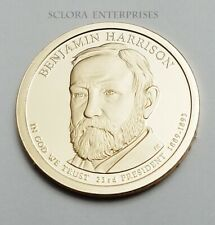2012 S Benjamin Harrison Presidential  *PROOF* Dollar Coin **FREE SHIPPING**