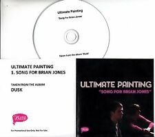 ULTIMATE PAINTING Song For Brian Jones 2016 UK 1-trk promo test CD