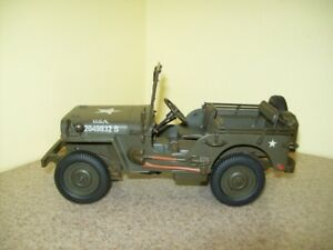 Vintage USA Army Jeep USA 20491132 S Hard Plastic Toy
