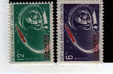 North Viet Nam Sc 160-1 LH set of 1961 Space  Y.Gagarin