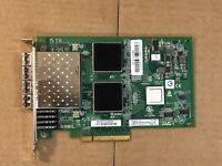 QLogic QLE2564 Quad Port FC HBA PCI-E 4 Port + 4x 8Gb Transceivers Fiber Channel