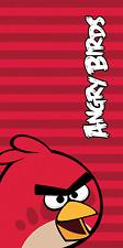 Angry Birds bande rouge serviette bain plage 100% enfants de coton