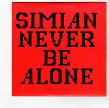 (FA919) Simian, Never Be Alone - 2002 DJ CD