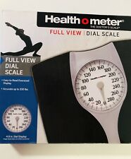 Health O Meter The Doctor's Scale Full View Dial Scale Oversized Display 330LBS
