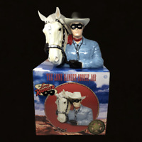 Lone Ranger & Silver Cookie Jar Vandor Limited Edition 931 of 4800 2003 With Box