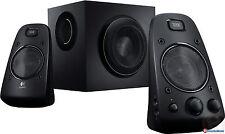 Logitech Speaker System Z623  2.1 THX-Certified 2.1 subwoofer 3.5mm XBOX PS3
