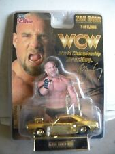 WCW GOLDBERG 24K GOLD Streetrod 1 OF 9,998 NEW