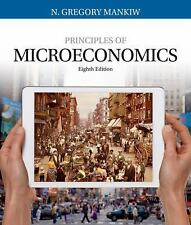 Principles of Microeconomics by N. Gregory Mankiw 8th edition NEW Book