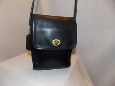 COACH 'Scooter' Bag ~ #0695-439 (9893) ~ Brass ~ Black ~Good Vintage CONDITION