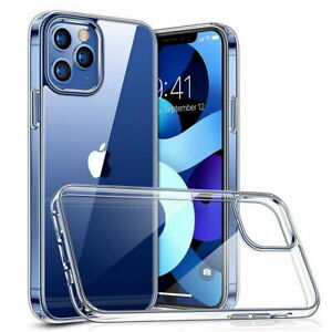 CLEAR Shockproof Case For iPhone 12 PRO MAX Mini 11 Pro Max XR XS 8 7 HARD Cover