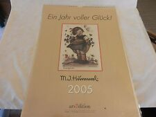M. J. Hummel 2005 Calendar Ein Jahr Voller Gluck! from Germany
