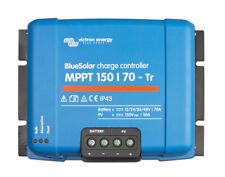 Régulateur de charge solaire MPPT 70A 12/24/48V Bluesolar Victron 150/70-TR