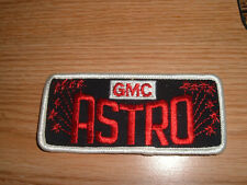VINTAGE GMC ASTRO CAB OVER TRUCK EMBROIDERED PATCH NOS