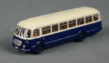 BREKINA 58262 (H0, 1:87) Stadtbus JZS Jelcz 043 Bus blau 014, Wismut - XR 01-58