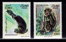 SELLOS FAUNA ARGELIA 1981 744/45 2v.