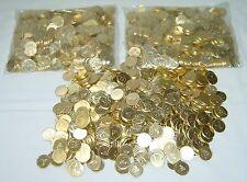 500 GOLDEN PACHISLO SKILL SLOT MACHINE TOKENS  == BEAUTIFUL DESIGN ! ==