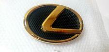 02-05 FITS New Lexus SC430 Emblem FRONT Grille Hood Gold 24K Badge 03 04 05