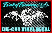 AVENGED SEVENFOLD Death Bat Girl Decal Vinyl Sticker