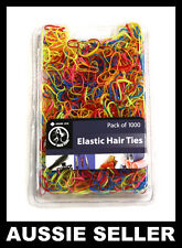 1000Pcs Mix Colour Baby Girl's TPU Rubber Hair Bands Elastics Tie Gum Holders